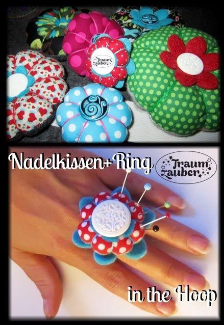 Traumzauber: Nadelkissen - ITH - Freebie | DIY Pincushion ...