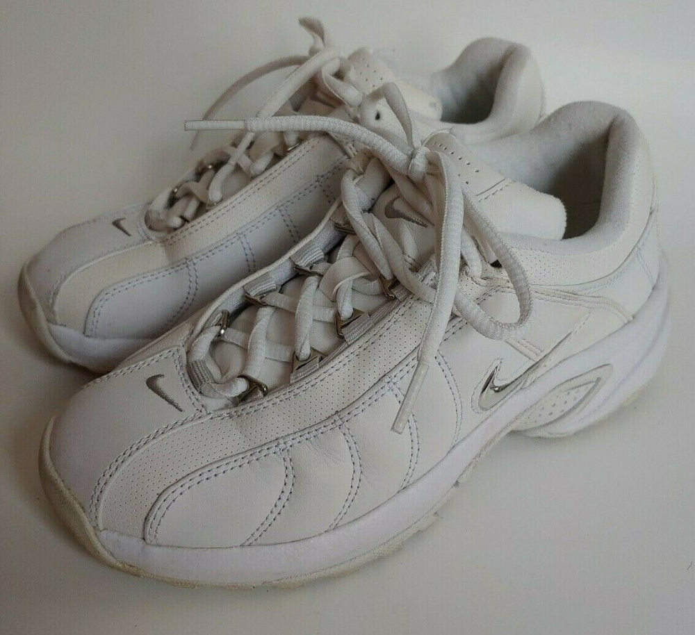 leather cross trainers