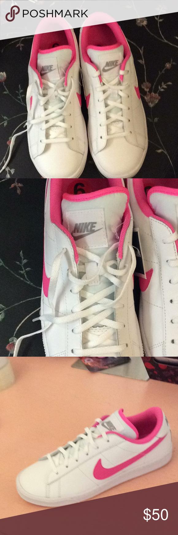 Nike NWOT Sneakers Brand new Nike hot pink & white sneakers. Nike Shoes Sneakers