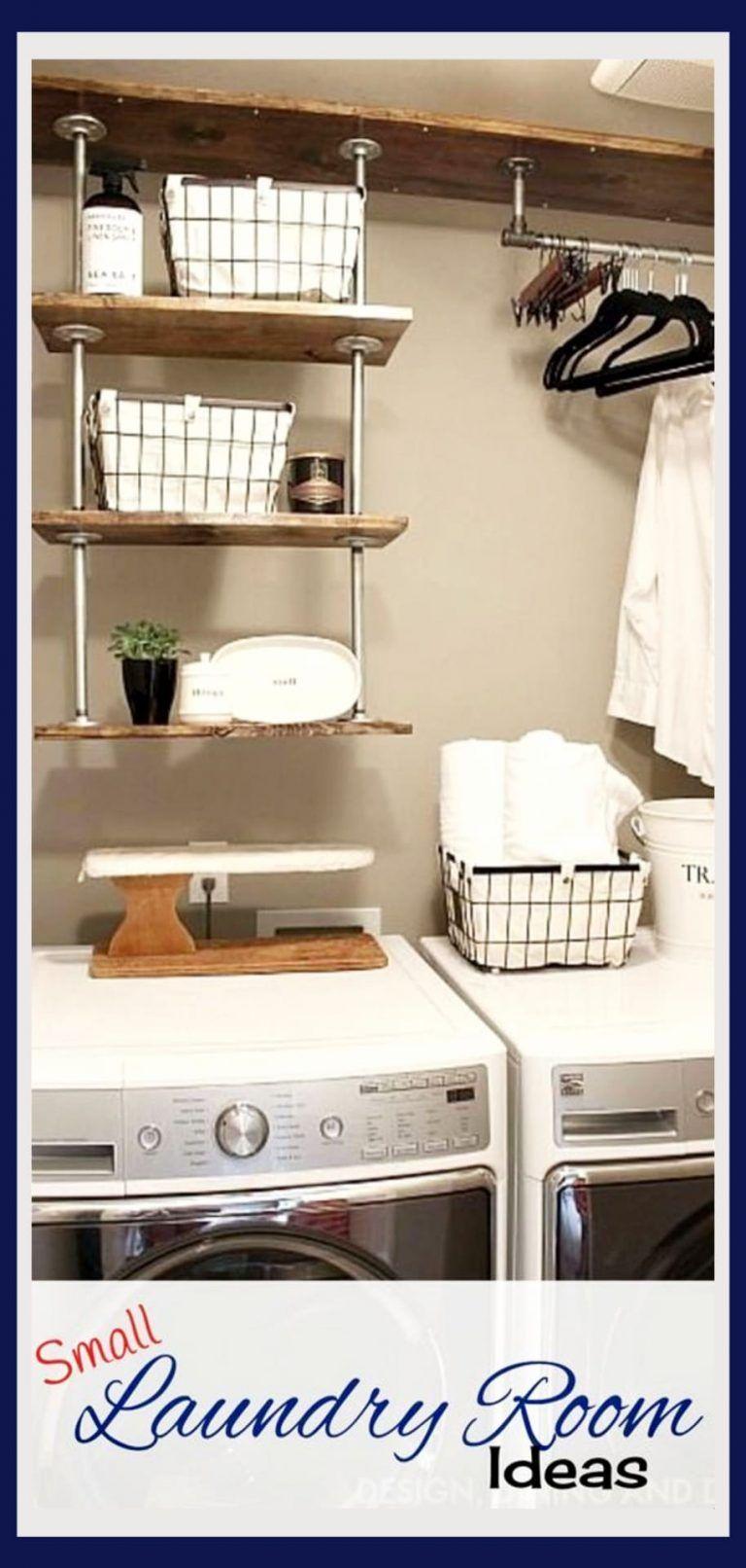 Photo of Kleine Waschküche Ideen – Platzsparende Ideen für kleine Waschküchen (kreative und einfache DIY)