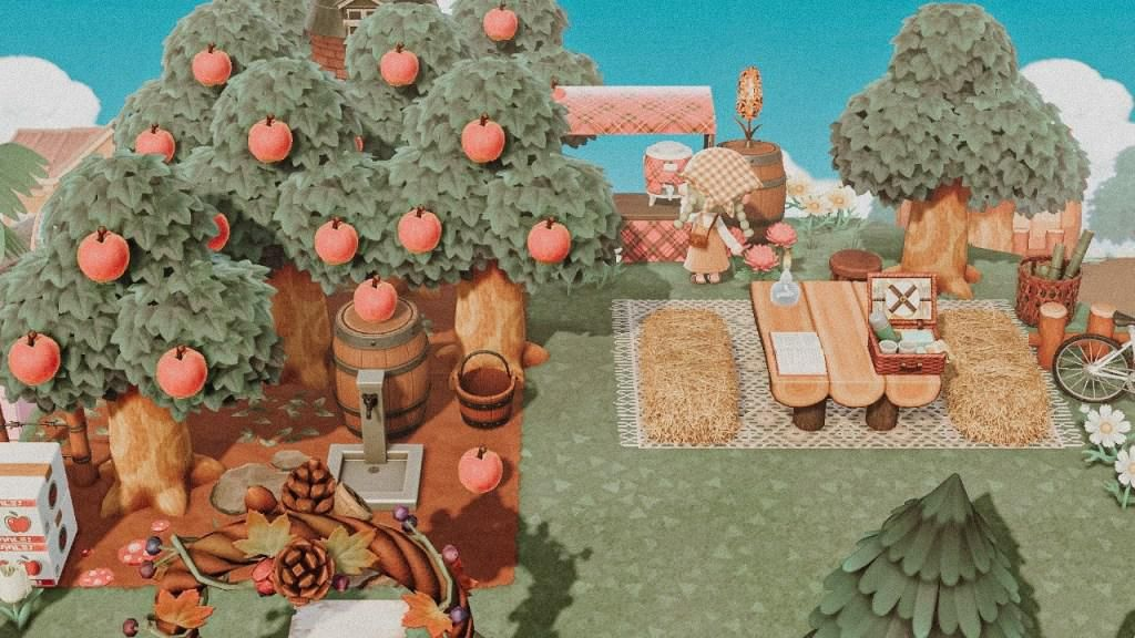 Haven Come Visit And Have A Sip Of Cider At The Orchard Info In Comment Animalcrossingtours Animal Crossing New Animal Crossing Animal Crossing Qr
