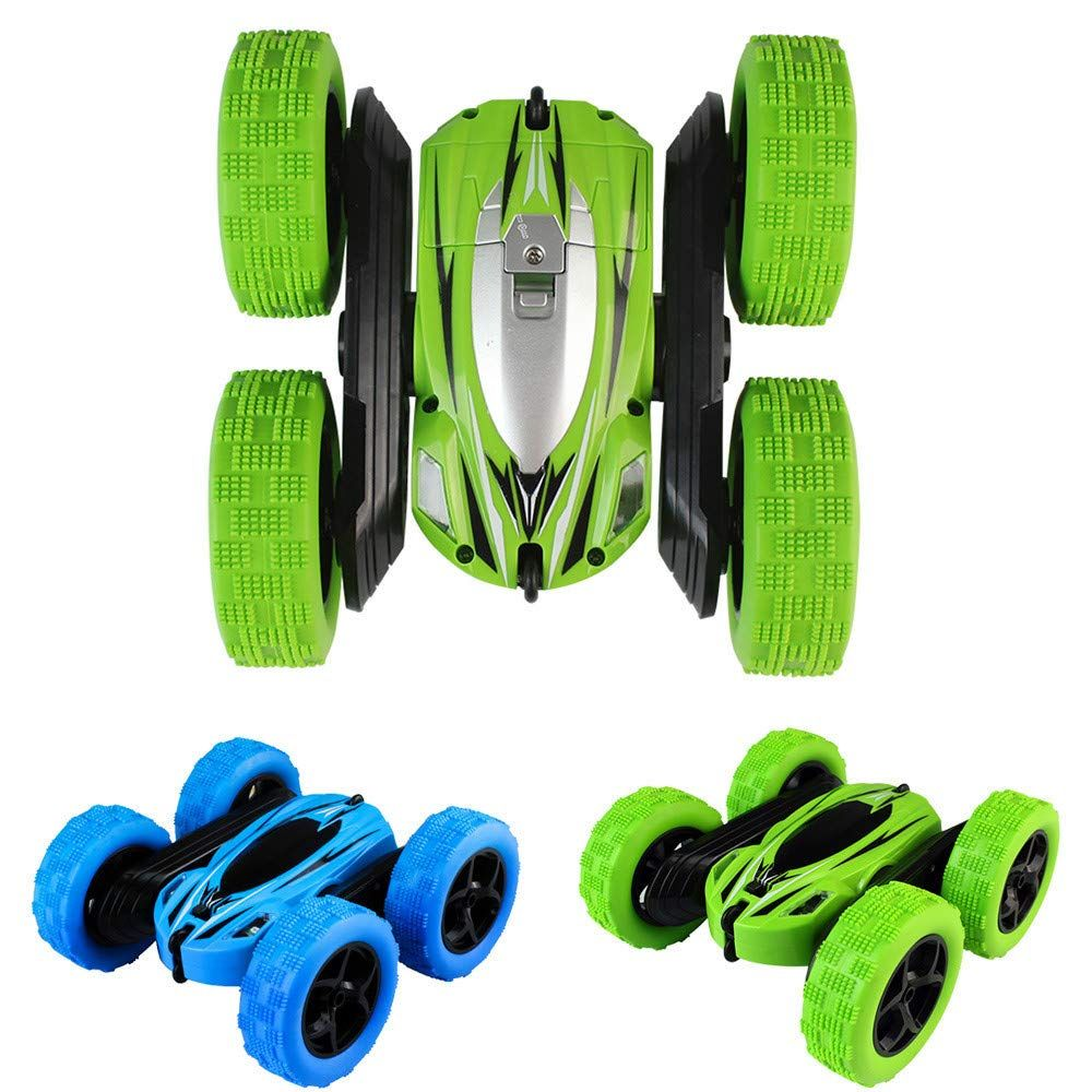 Insaneness Xmas Gift Toys Kids 360° Rotate Stunt Car Model