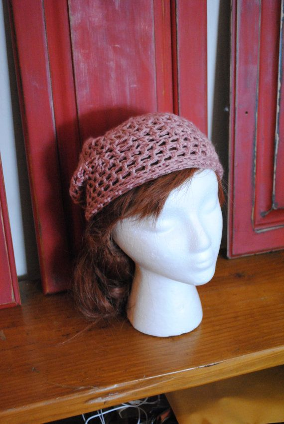 Rosey Slouchy Hat