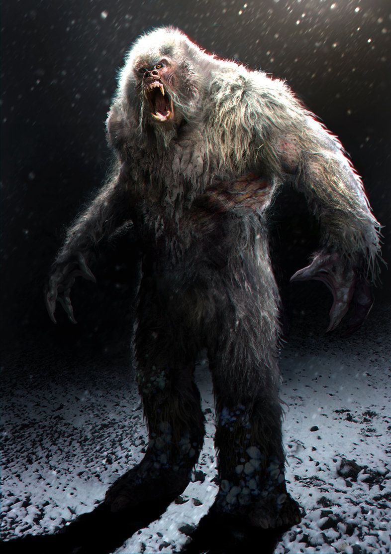 Yeti, Daren Horley on ArtStation at http://www.artstation.com/artwork/yeti-c7acd3d3-a041-493f-97a7-240d307c367a