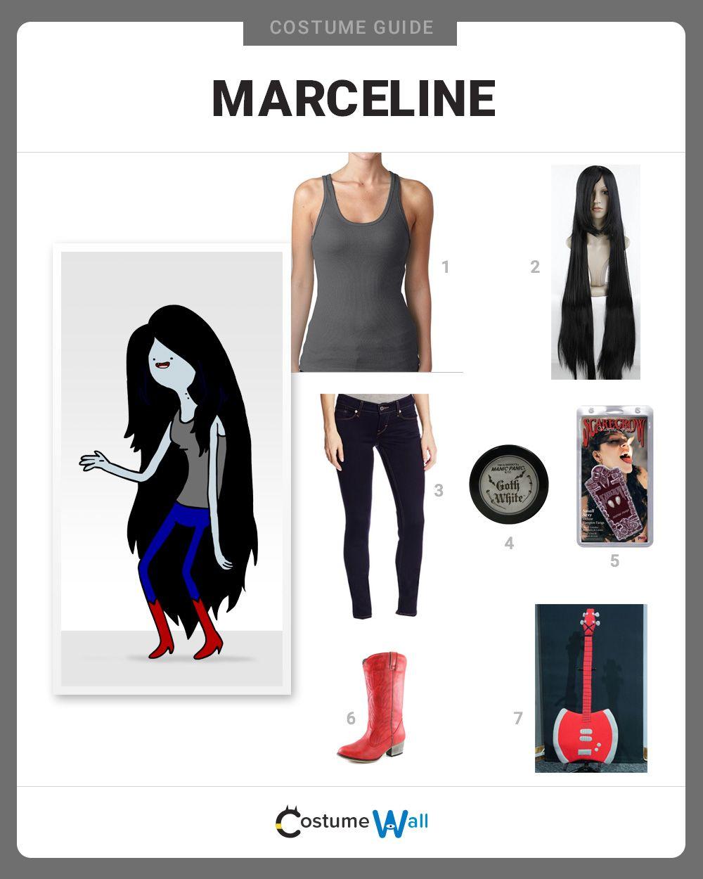 Adventure time costumes marceline
