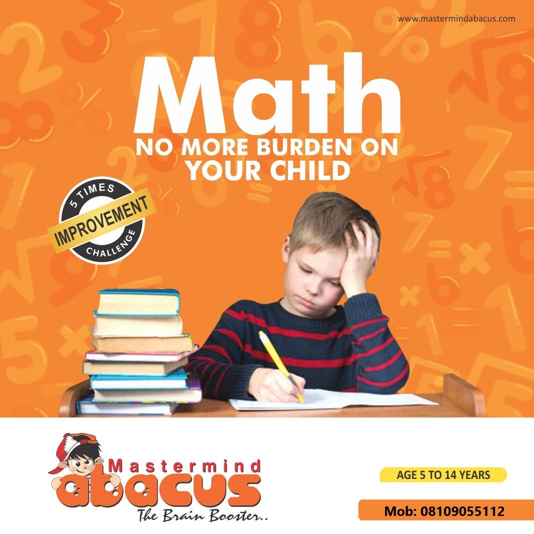 With Mastermind Abacus No More Math Burden On Your Child