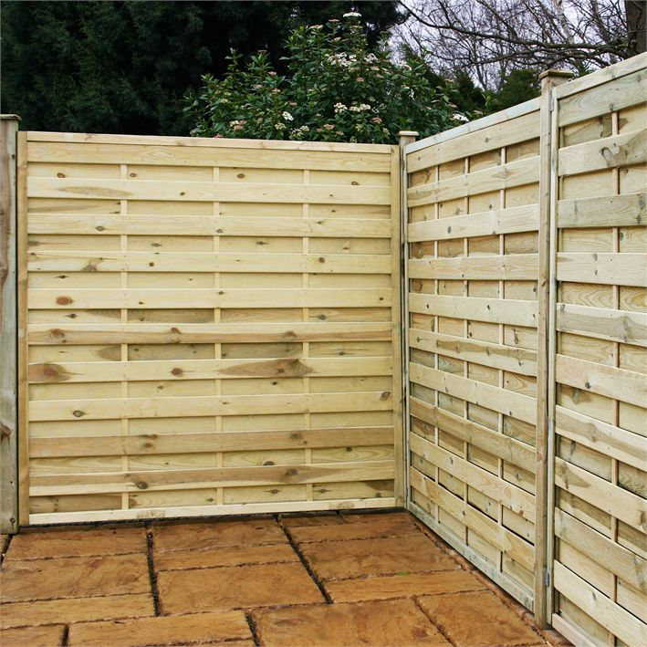 6ft Privacy Fence Pressure Treated Wood Horixzontal Google
