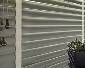 Aluminum Blinds Ideas Include Natural Elements By Hunter Douglas These Metal Have A Wider Slat Than Traditional Mini And Also Are Connected