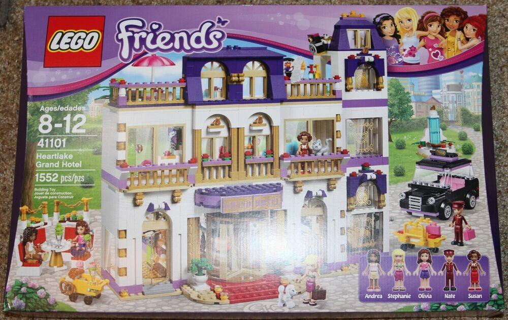 Lego 41101 Friends Heartlake Grand Hotel Brand New Grand Hotel Lego Castle Hotel