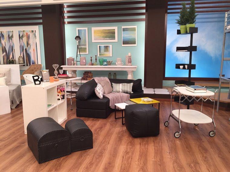 decoracion apartamentos pequeños muebles salón diseño funcional ...
