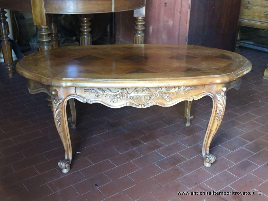 Tavolino Rotondo Da Salotto Antico.Mobili Antichi Tavoli E Tavolini Antico Tavolino Provenzale Da