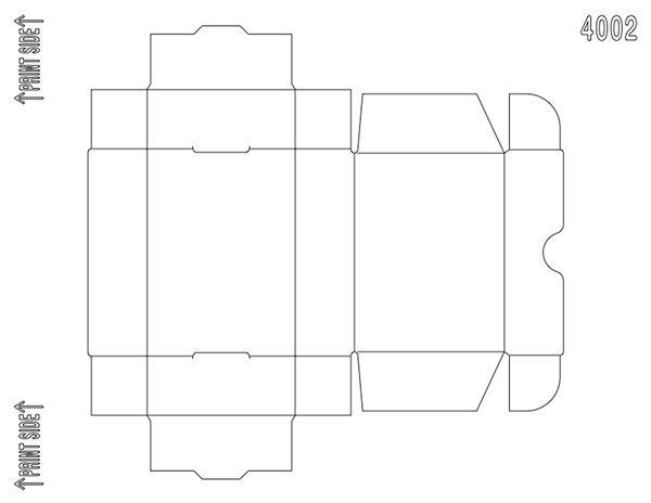 soap box 4002 soap boxes  box templates and favors Breaker Box Label Printable Template Home Fuse Box Template