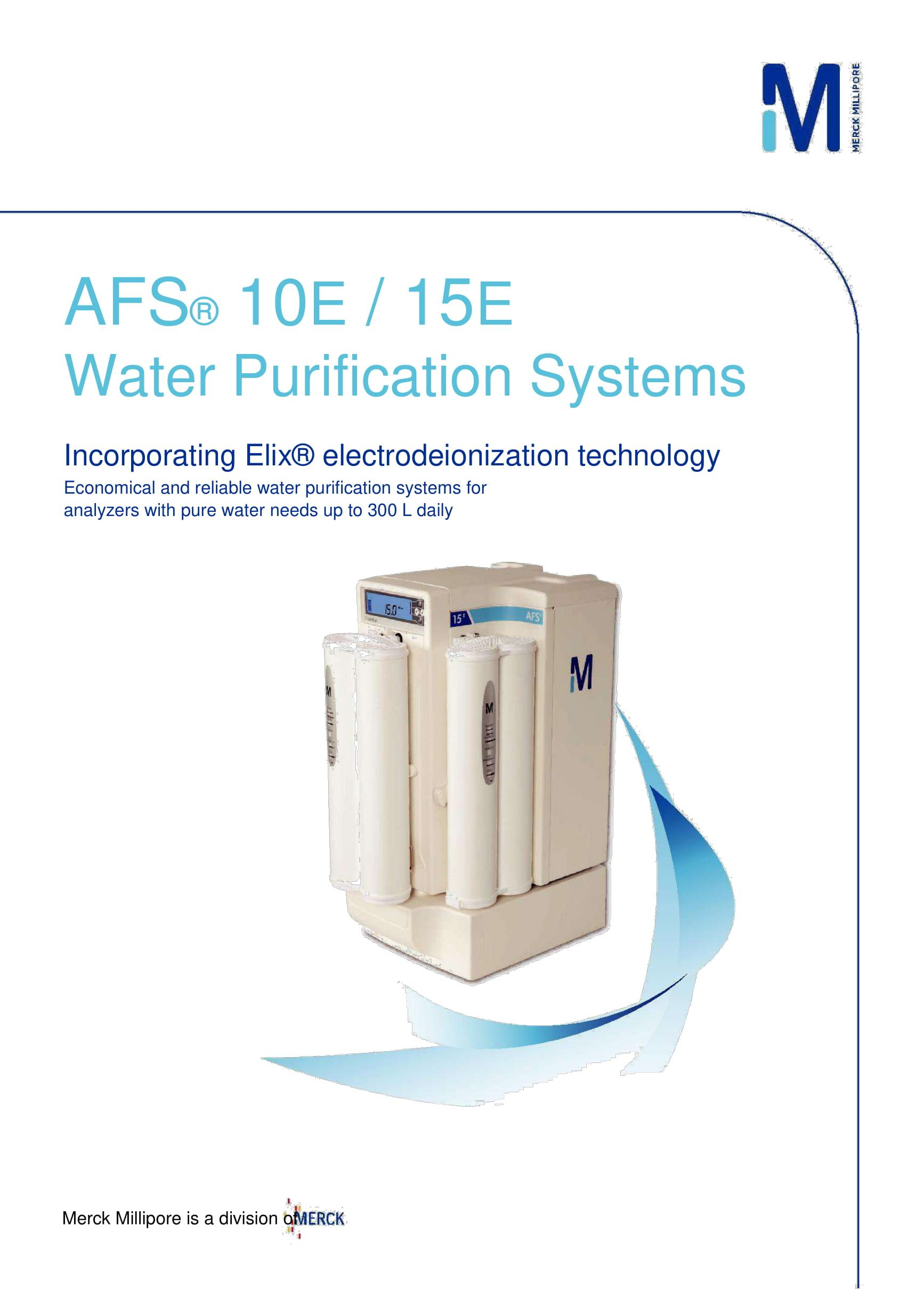 afsa e systems combine state of the art elixa electrodeionization