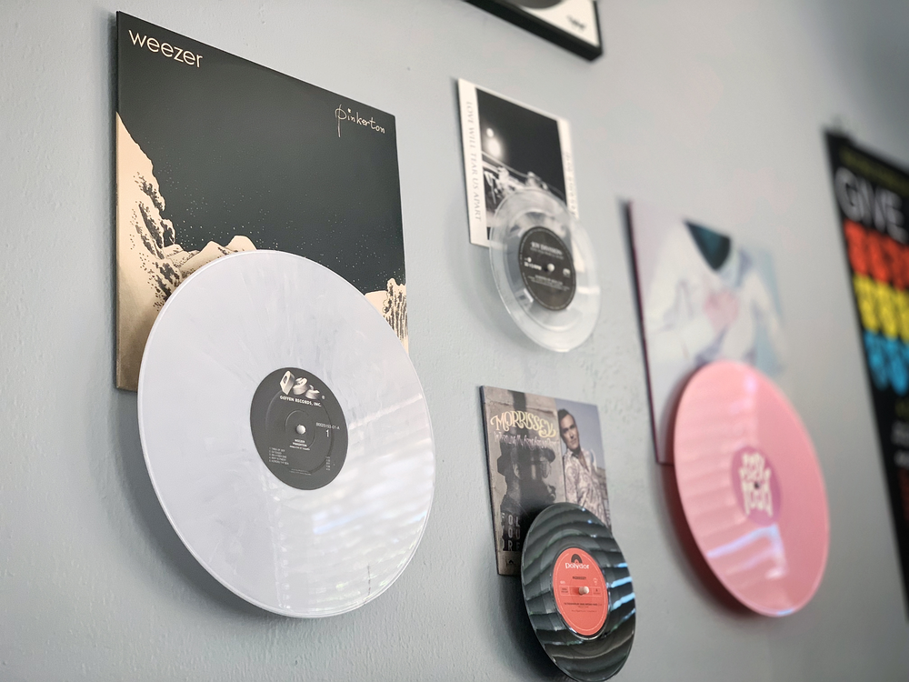 Record Props Vinyl Record Displays Vinyl Record Display Vinyl Record Room Vinyl Records Decor