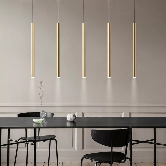 Baileyton 5 Light Kitchen Island Cylinder Pendant In 2020 Kitchen Lighting Dining Table Lighting Modern Pendant Light