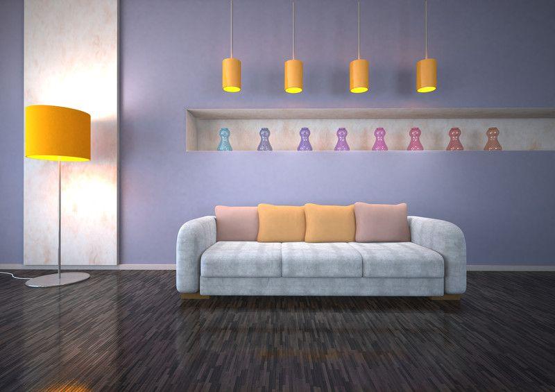Ideen zum Wohnzimmer streichen u00bb 5 kreative Beispiele ideen - ideen für wohnzimmer streichen