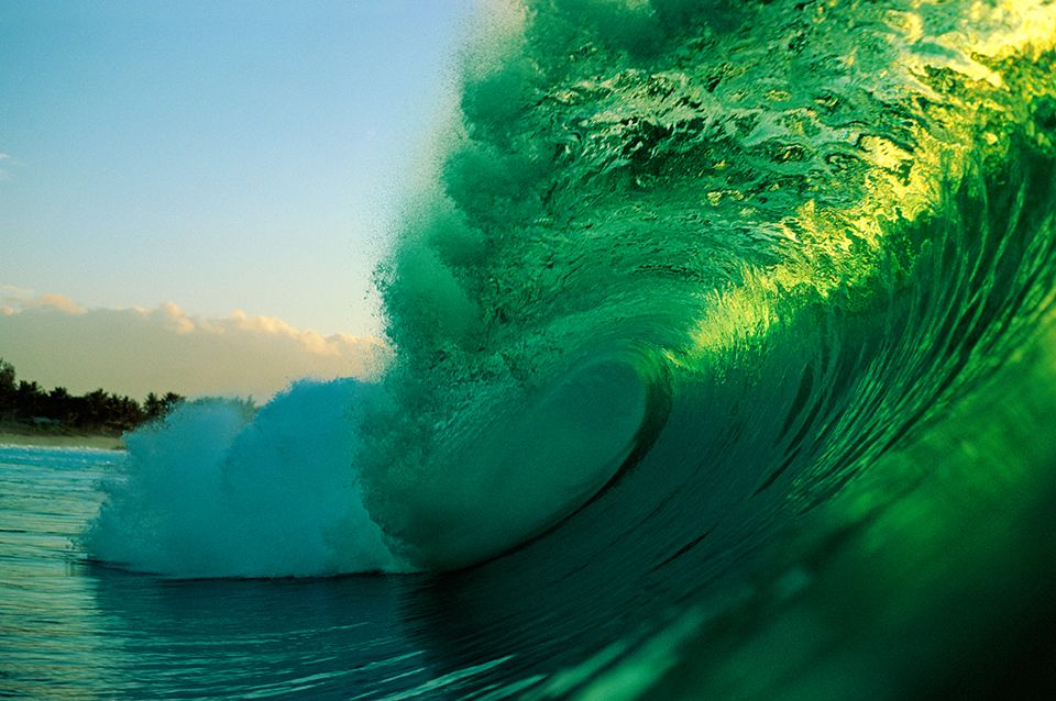 """Absolutely my favorite shot - Aaron Chang """"Green Wave Pipe"""""""
