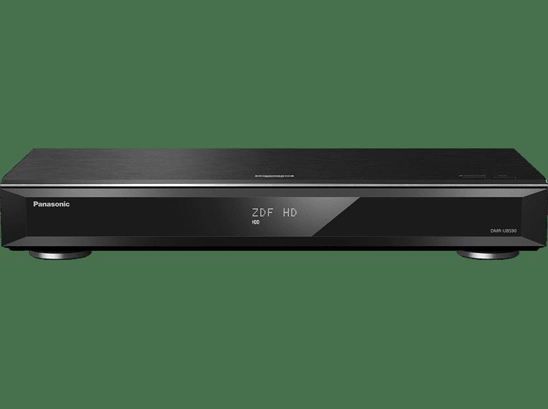 Panasonic Dmr-ubs90egk 4k Uhd Blu-ray Recorder, Schwarz ,schwarz