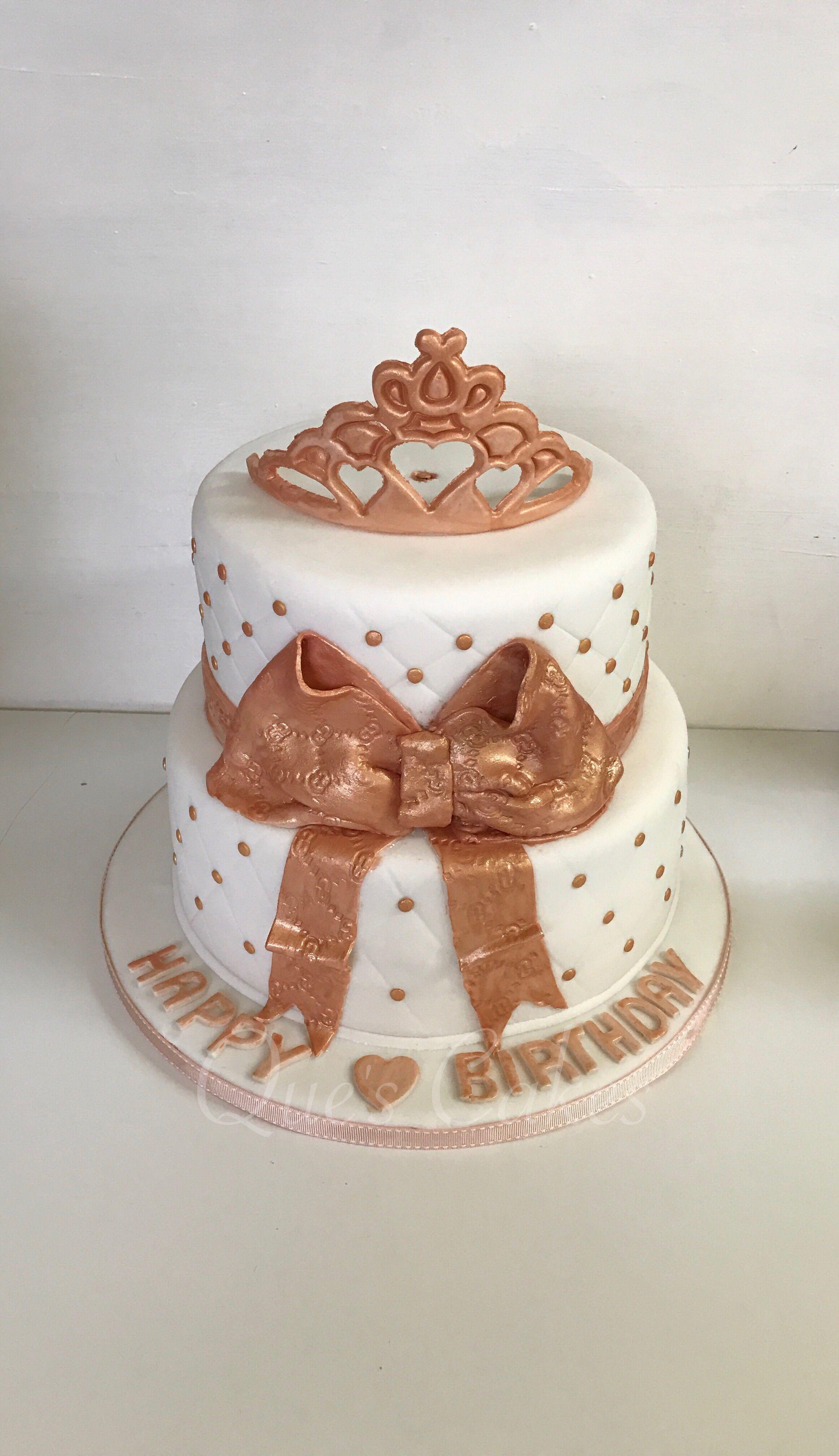 rose gold cake birthday cake cakes pinterest gold. Black Bedroom Furniture Sets. Home Design Ideas