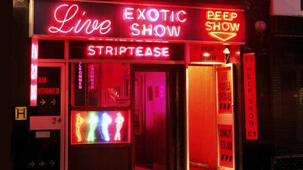 Soho S Infamous Peep Shows Neon Red Light District