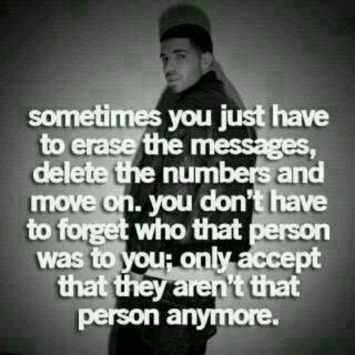 Delete the past