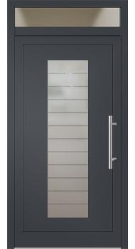 aluminium haust r modell anita2 anthrazitgrau mit oberlicht haust r in 2018 pinterest haus. Black Bedroom Furniture Sets. Home Design Ideas