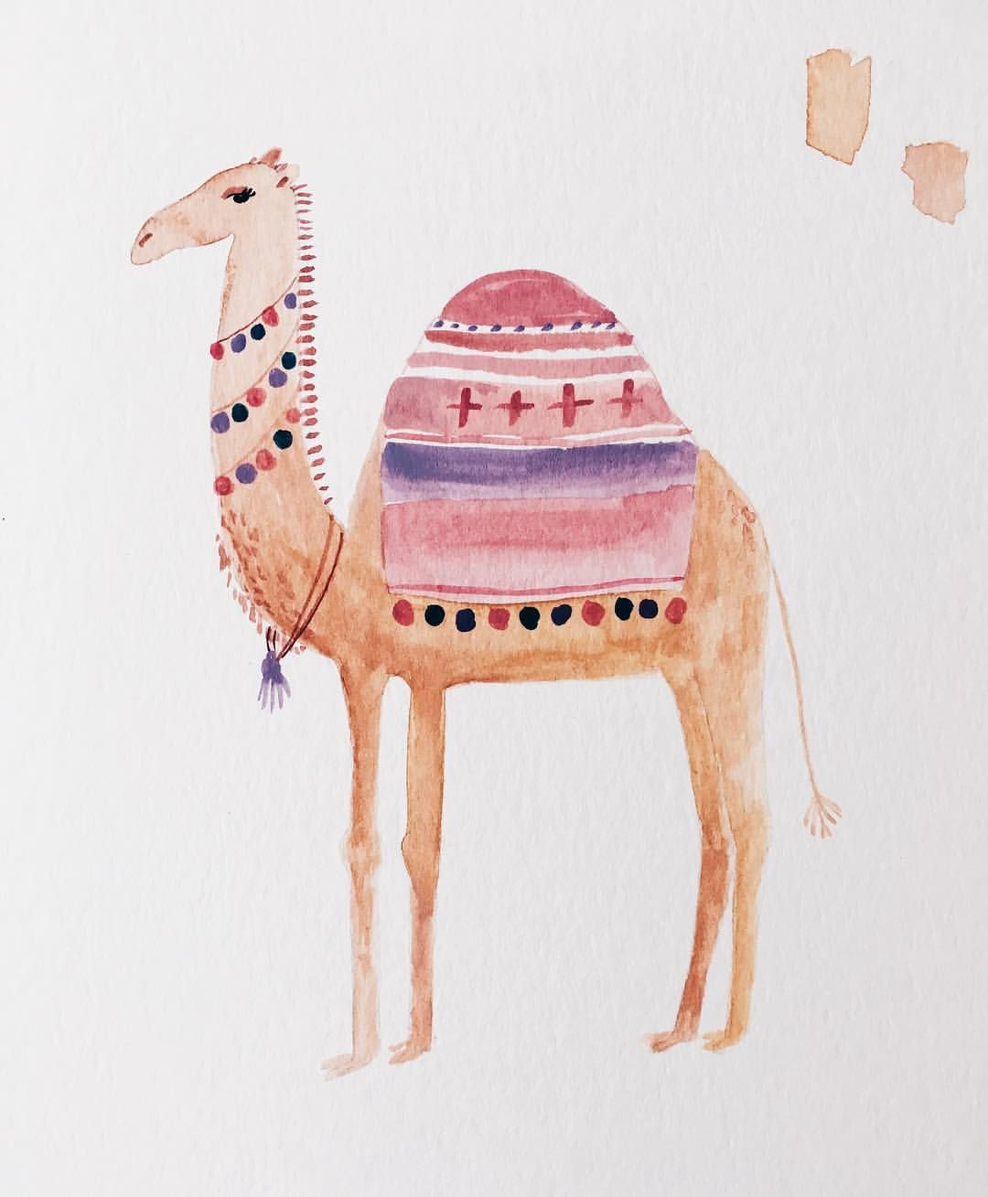 Forever Painting Camels Camels Illustration Camels Art