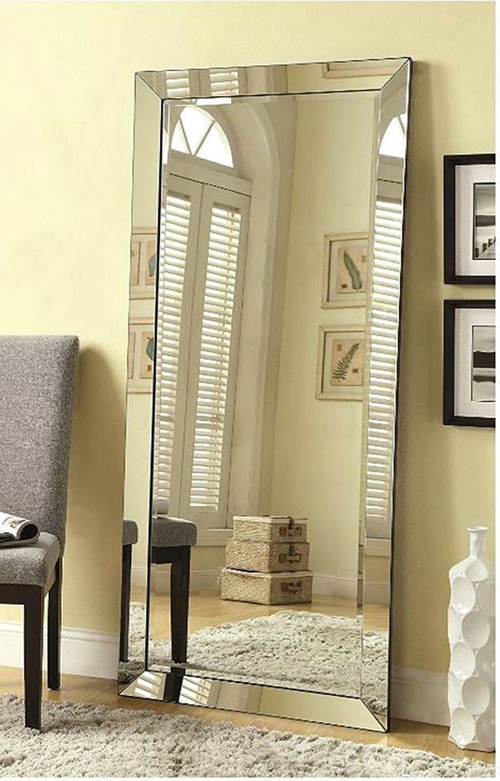 Mirrors For Wall Full Length Free Standing Floor Mirror