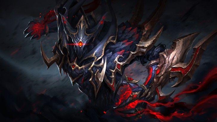 Nevermore Dota 2 Loading Screen Souls Tyrant Set Art Wallpaper