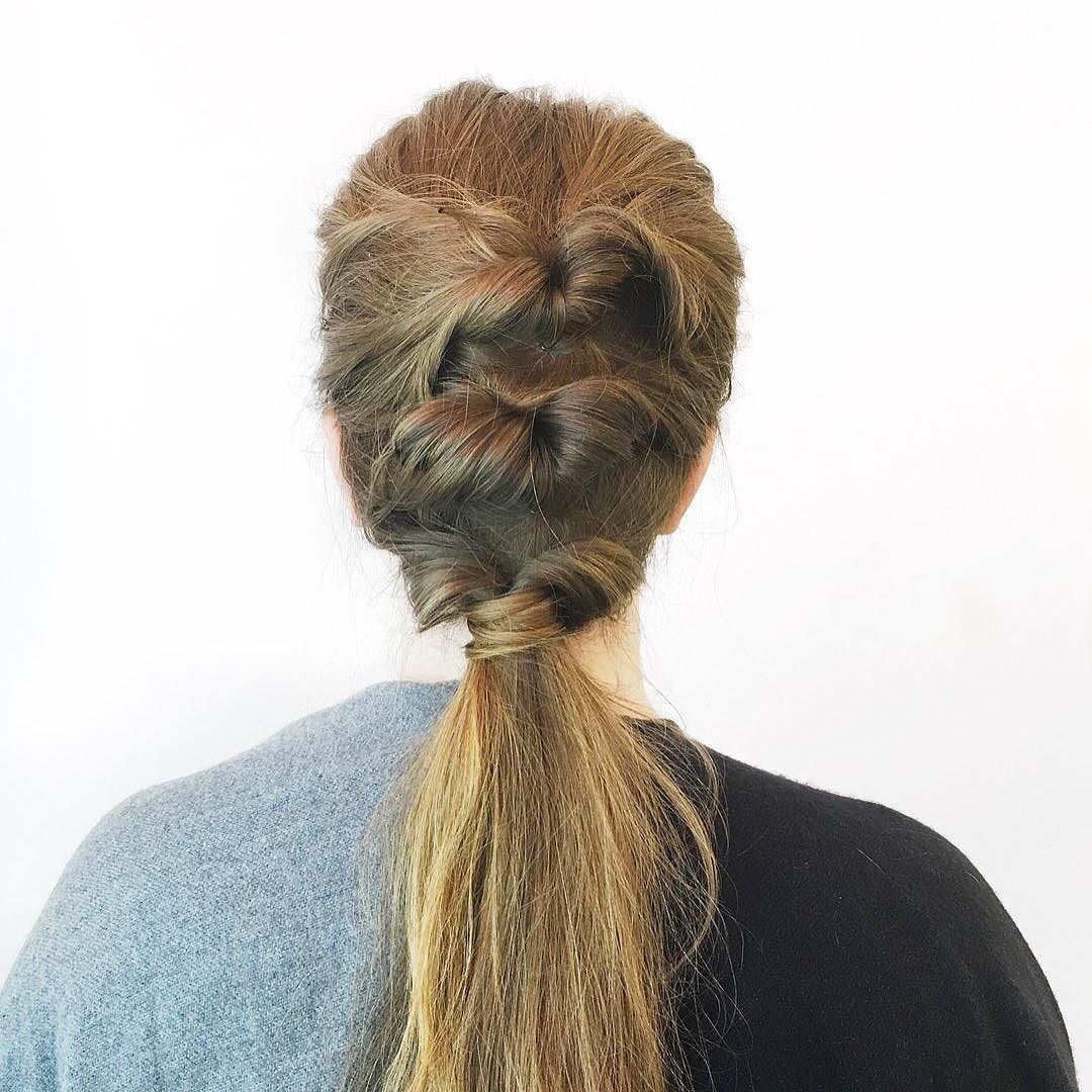 How cool is this triple topsy tail created by birchboxsoho asst