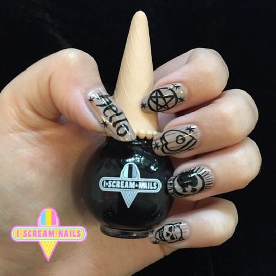 I Scream Nails Melbourne Nail Art With Images Nails Nail
