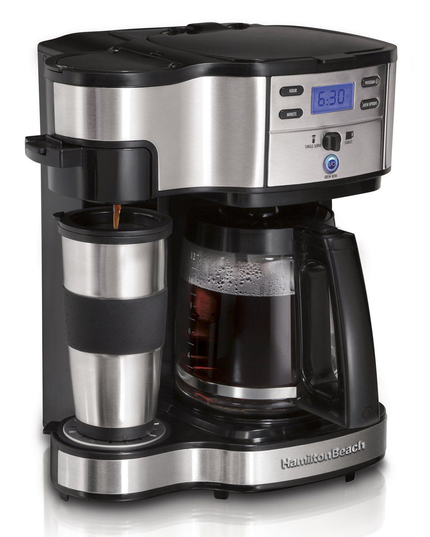 12 Cup Programmable Coffee Maker Single Serve Brewer Travel Mug Full Pot Carafe Single Coffee Maker Best Drip Coffee Maker Best Coffee Maker
