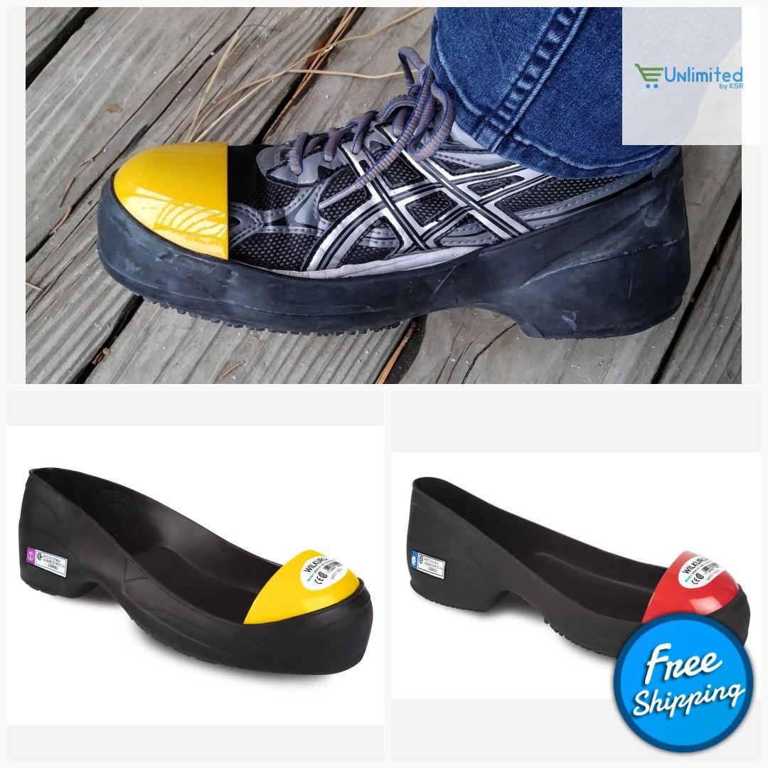 Wilkuro Safety Toes Steel Toe Cap Overshoes, NonSlip Shoe