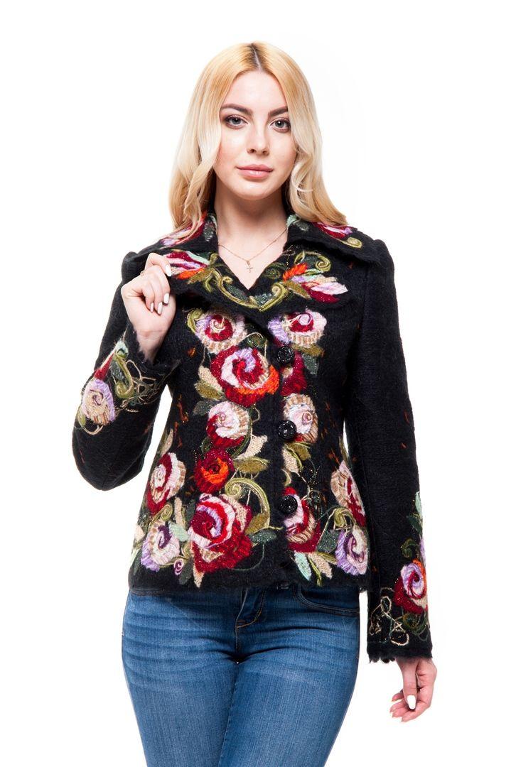"""Жакет """"Малика"""" - Юкостайл. Магазин дизайнерской одежды оптом и в розницу."""