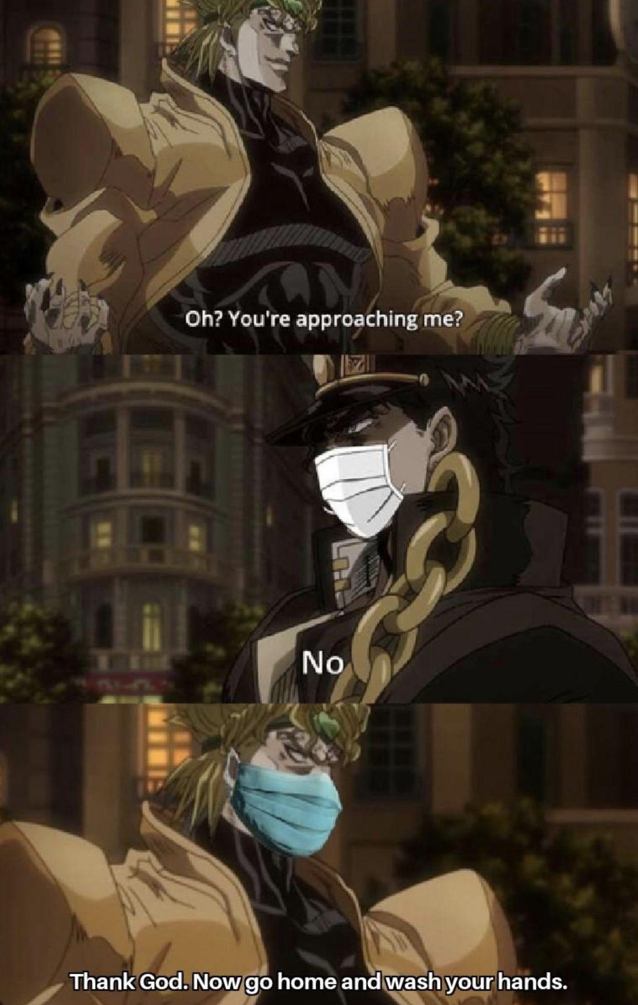 Pin by Logan on Geek in 2020 Anime memes funny, Jojo