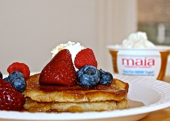 Mother's Day is coming up in two days - are you ready? If you're sweating bullets because you haven't made plans yet, never fear: Here's a unique, easy pancake recipe for a special Mother's Day brunch!
