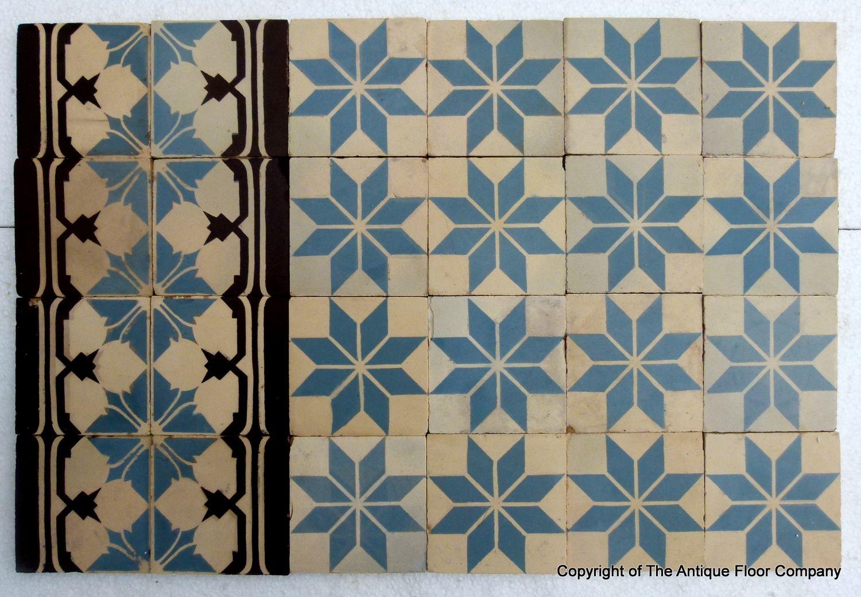 Original 1930s tile gorgeous the antique floor company hudson of antique perrusson ceramic encaustic tiles early century the antique floor company dailygadgetfo Choice Image