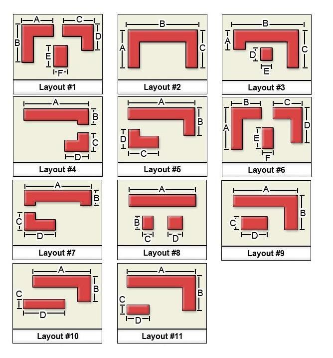 Very best best kitchen layout 668 x 717 72 kb jpeg for 11x11 room layout