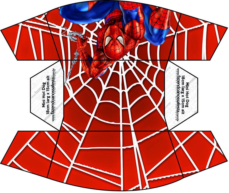Spiderman: Cajas para Imprimir Gratis. | Pudełka | Pinterest ...