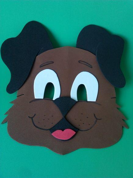 Máscaras de Animais diversos em EVA sob encomenda. Altura  15.50 cm  Largura  20.00 cm Peso  6 g 07976ff641d
