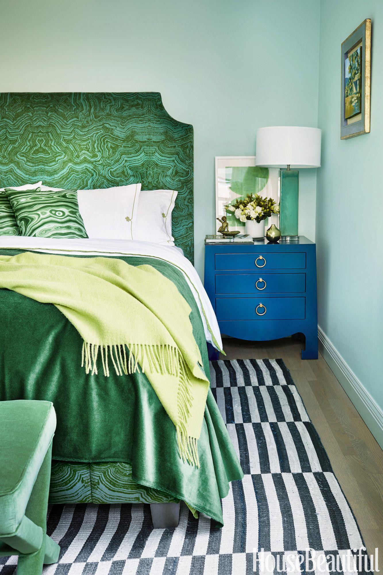 17 Dreamy Green Bedrooms Green Bedroom Decor Bedroom Green