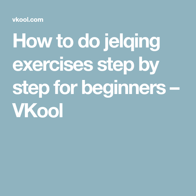 How to do jelqing exercises step by step for beginners