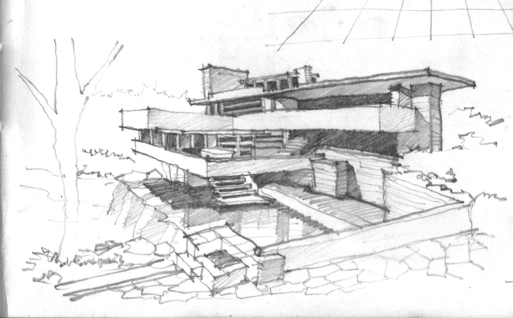 Falling Water House Usa Kaufmanns House Falling Water Usa In 1935 Architect Frank