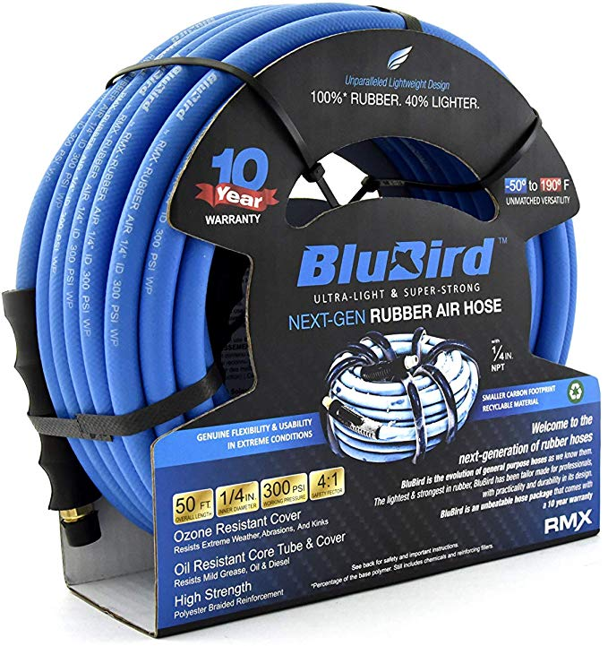 BluBird Lightest, Strongest, Most Flexible