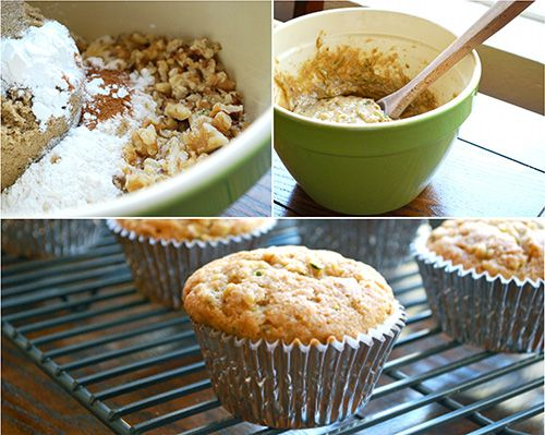 Sweet Zucchini Cupcakes with Cream Cheese Frosting