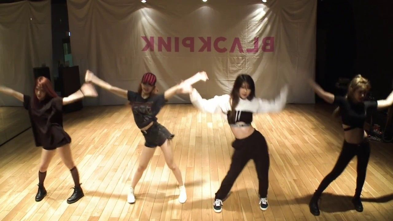 Mirrored Blackpink As If It S Your Last Dance Practice Video