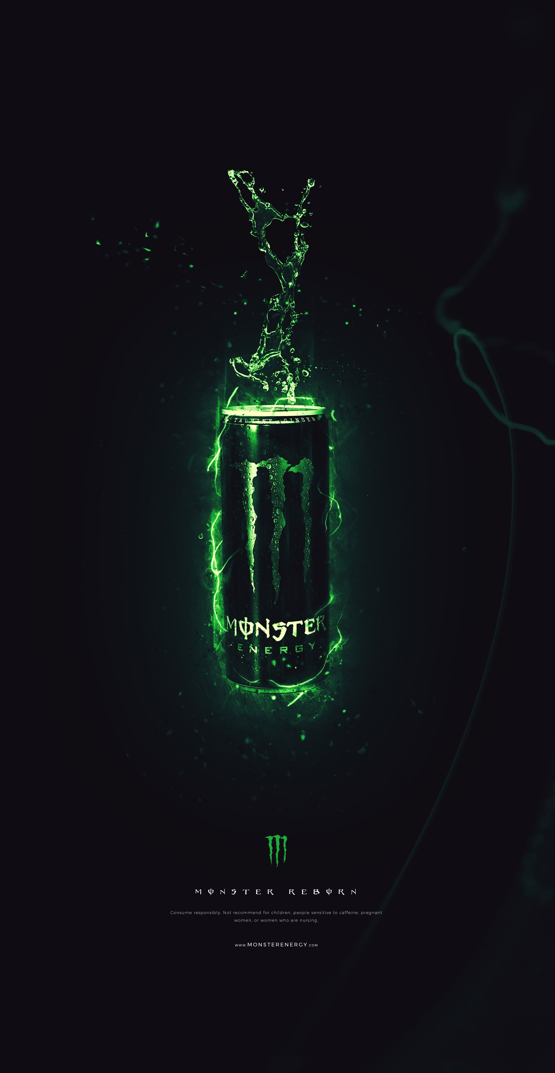 Check Out This Behance Project Monster Energy Https Www Behance Net Gallery 56461915 Monste Monster Energy Monster Energy Drink Logo Monster Energy Drink