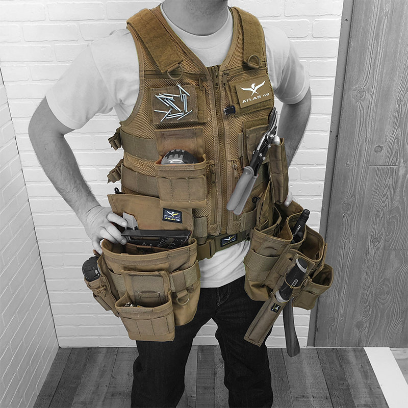 Saratoga Tool Vest™ Motherload Kit in 2020 Tool apron