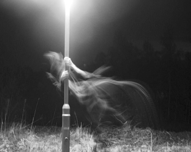 Creepy Creepy Ghost Pole Dancing