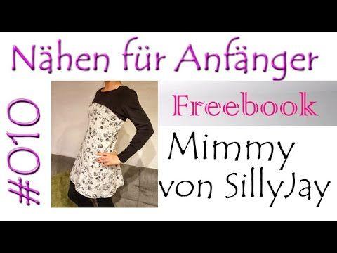 Nähanleitung Freebook Kleid Mimmy by SillyJay #010 - YouTube ...